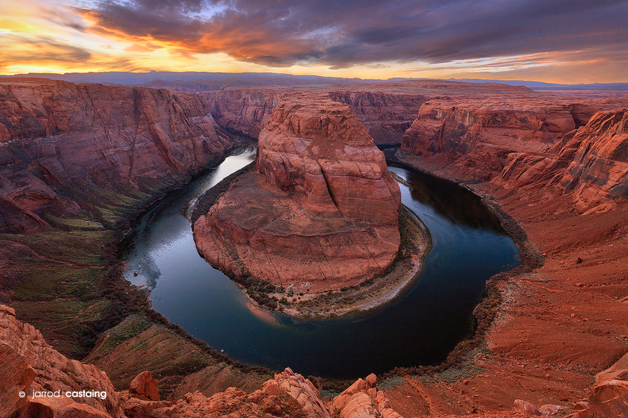 Camp and Hike Horseshoe Bend by Jarrod Castaing