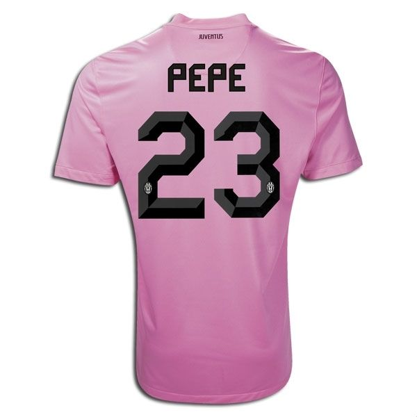 Entertainment PEPE Juventus Away Soccer Jersey 2011/2012