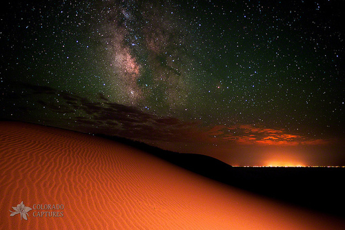 Camp and Hike Milky Way Gold From Sand Dunes Colorado