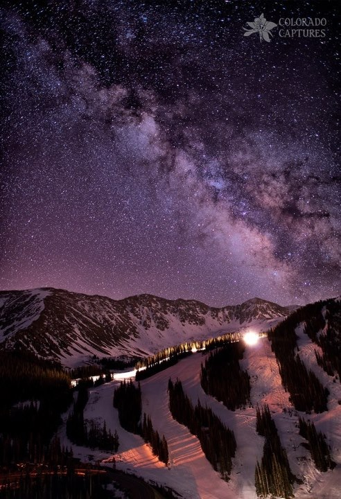 "Ski ""Starlight Mountain ski hill"" by Mike Berenson"