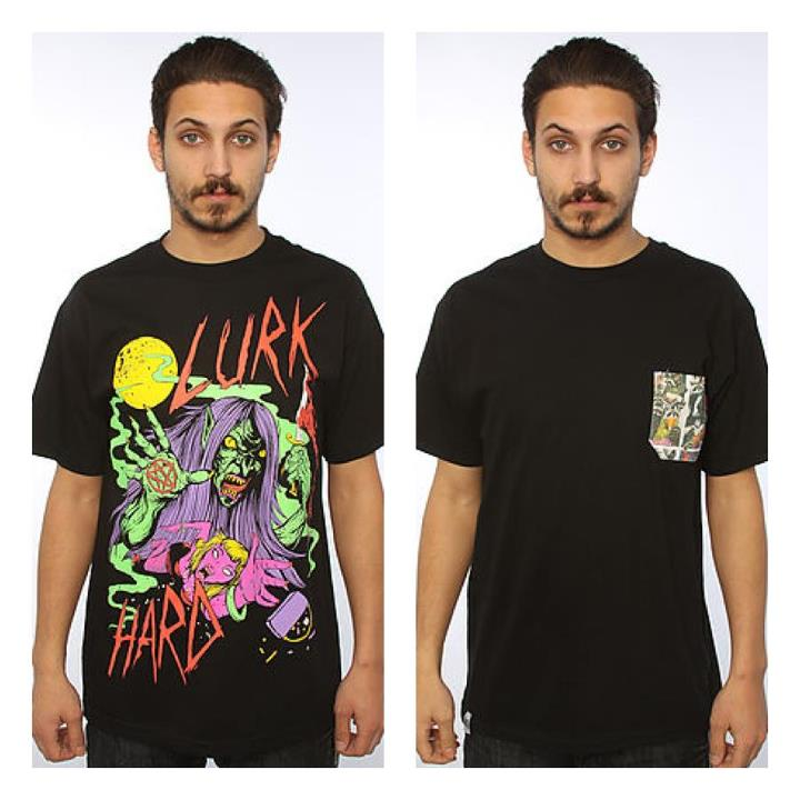 Skateboard Got some brand new LURK HARD tees in that are looking rather proper.
