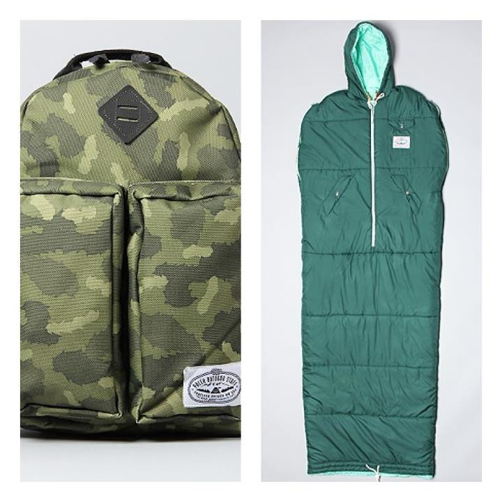 Camp and Hike Perfect time of the year to gather up some warm camping gear from Poler Stuff. Can use it indoors in the winter, and its never too early to start planning those summer camping trips either!