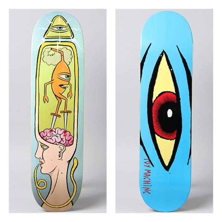 Skateboard YES we DO have some new Toy Machine decks and clothing in stock! How kind of you to ask.