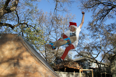 Skateboard Congrats to Quinn Holmes! You're the first winner of the Almost '12 Daes of Christmas' contest! You'll have a fresh Daewon Song deck coming to you ASAP.
