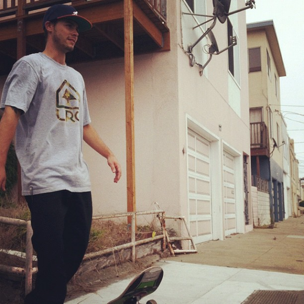 Skateboard @thejoeface is currently out gettin' it with @jackcurtin. #bricked http://instagr.am/p/PgFAJHRBQm/