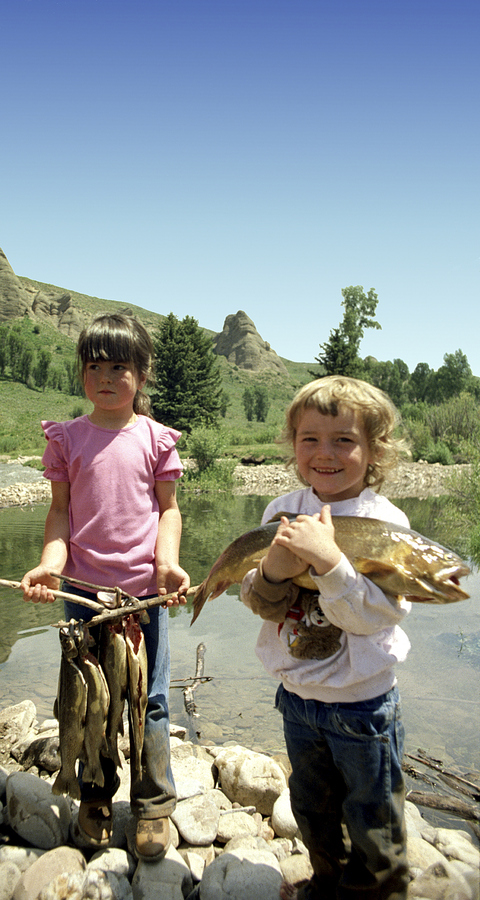 Flyfishing Little Girls, Big Fish
