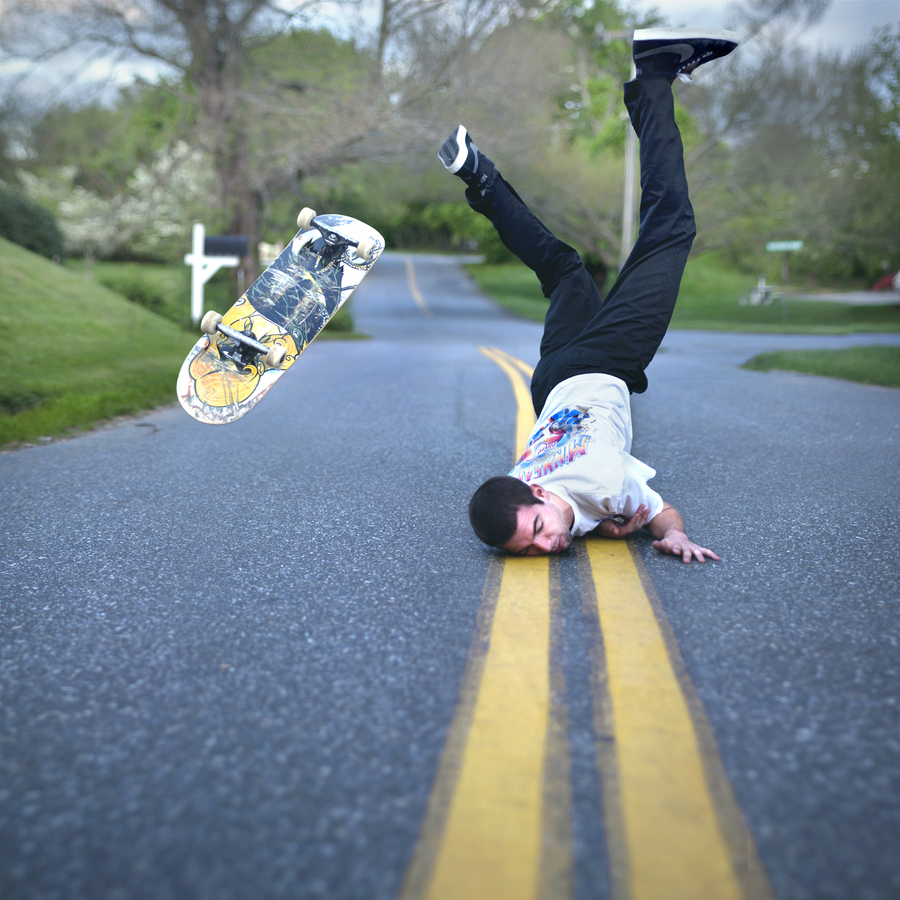 "Skateboard  ""Frustration""  - photo by Kevin Corrado"
