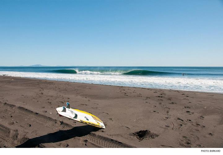 "Surf ""Hidden Sea and the Pyramid of Fire,"" a Russian adventure to the desolate shores of Kamchatka. Photo: Chris Burkard Photography  WATCH HERE: http://bit.ly/Ws1qUM"