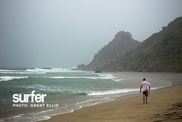 "Surf ""The only vacation that can't be completely spoiled by rain is a surf trip,"" says Grant Ellis. http://bit.ly/kKOOwg"
