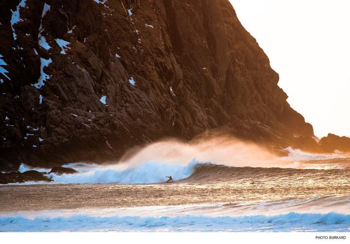 Surf In this installment of Behind the Lens, Chris Burkard talks about shooting and shivering his way through Norway. Photo: Chris Burkard Photography  CLICK HERE: http://bit.ly/RrGuvo