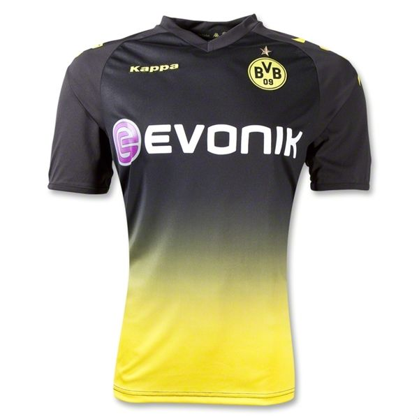 Entertainment Borussia Dortmund Away Soccer Jersey 2011/2012