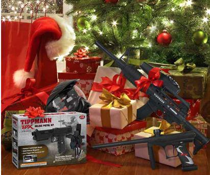 Entertainment What Tippmann marker are you hoping is under the tree. Maybe send a hint and share this post. http://shop.tippmann.com