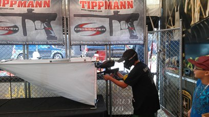 Entertainment Free Crossover demo's this weekend at Wayne's World of Paintball during the Grande Finale event.  Stop by the Tippmann event trailer & test shoot one today!