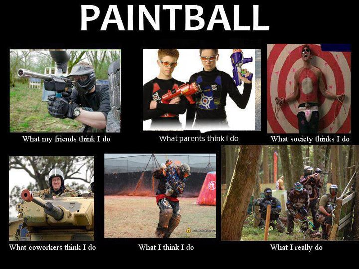 Entertainment We wanted to share our favorite Paintball Pic one more time. This is a great post to share with friends if you are trying to hint about some new paintball gear or at least remind them why you play paintball. Happy Thanksgiving to all our U.S. fans and jus
