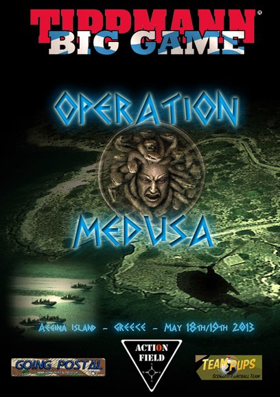 "We are proud to announce Tippmann Big Game Greece, ""Operation Medusa"" 
