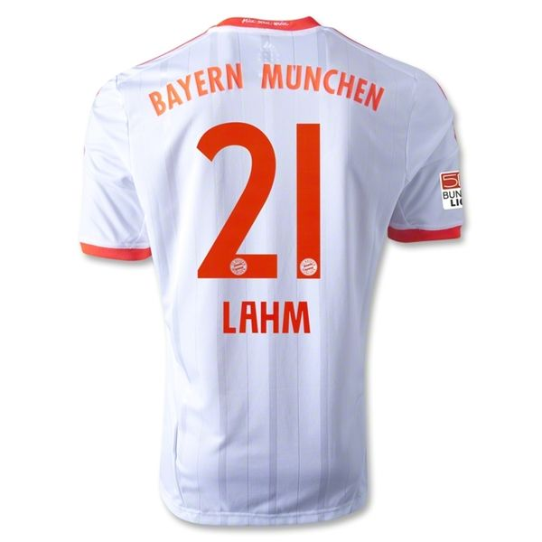 Entertainment Mens LAHM Bayern Munich Away Soccer Jersey 12/13