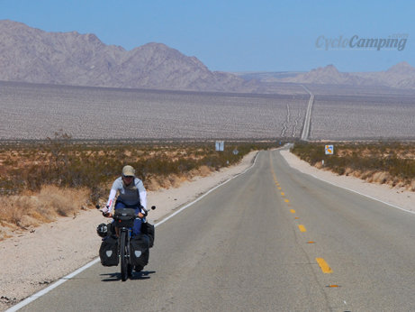 After biking through the Mojave Desert and the Syrian desert I thought I should write an article on how to cycle through a desert. Perhaps some of you have some tips they would like to share so I can include them in the article? For example, I learned fro