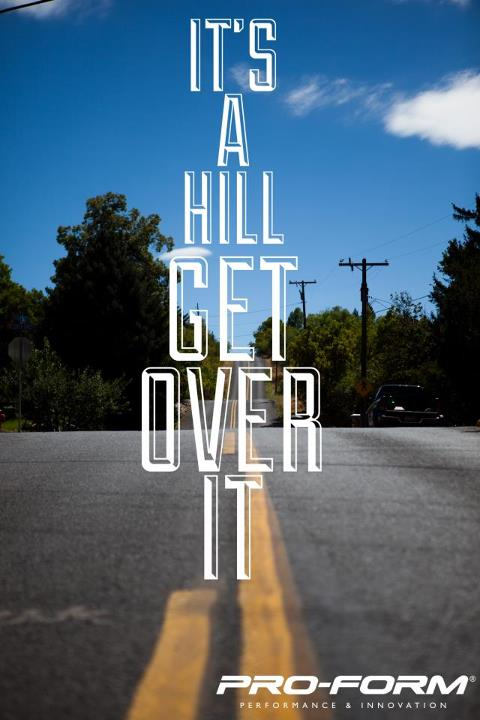 Fitness What the Hill! Our friends at runners world give you some quick tips to power up hills. http://bit.ly/T2Jspx
