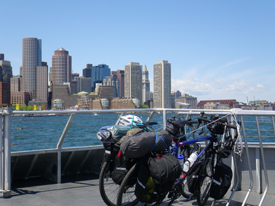 Fitness Riding your bike from Boston to Cape Cod and taking the ferry back sounds like a pretty cool adventure to us. 
