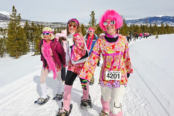 Camp and Hike You don't have to like snowshoeing to love the Tubbs Romp to Stomp out Breast Cancer but here are a few reasons to add it to your winter to do list: http://ow.ly/fQZ0V