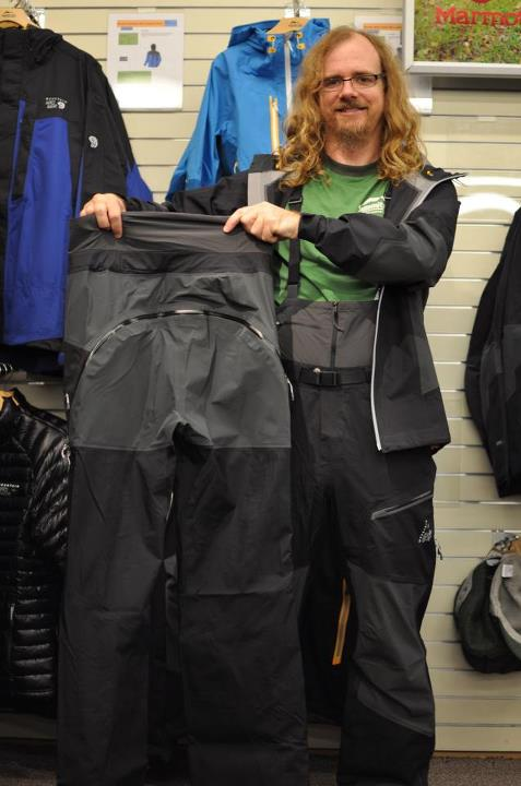 Entertainment With almost any feature you could ever want in a burly winter pant this is a great choice for almost any activity – ice, mixed or just long days in the snow! Mountain Hardwear's Dry.Q Elite for great weather protection, internal snow gaiter, integrated be