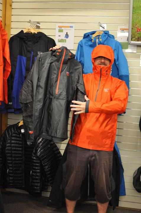 Entertainment Why take more than you need? The Mountain Hardwear Quasar Pullover is a 9oz shell made for the amazing alpinist Ueli Steck and uses Dry.Q Elite to provide great weather protection and breathability, deep waterproof zip for ventilation, low profile hood an