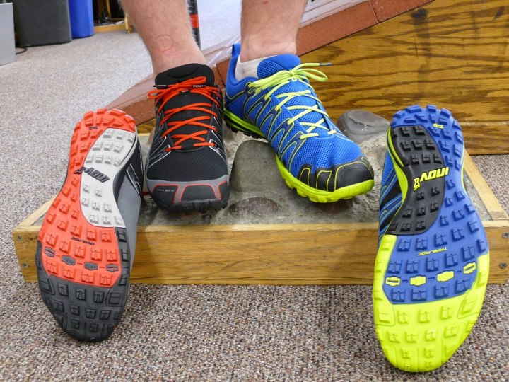 Camp and Hike Check out the great colors and aggressive outsole on the inov-8 Trailroc 245 and 255. We are excited about having the Trailroc in the store! The fit has gotten a good response from staff (a wider toe box than the F-Lite series is a nice change for many of