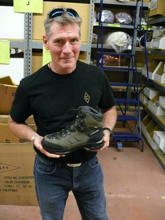 Camp and Hike Dave with the Lowa Camino GTX WXL (Wide) - the Lowa Camino and Catalan have quickly become favorite choices when fitting in the store and the wide version will provide even more options!