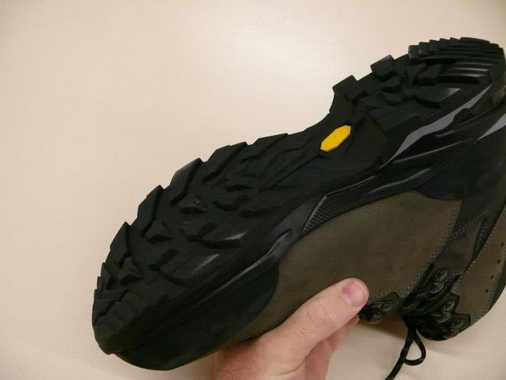 Camp and Hike Vibram Apptrail Outsole - great on trail!