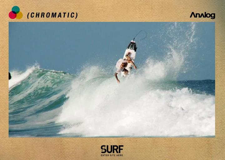 "Surf Meander your way to TransWorld SURF today to watch Analog Clothing's new surf film ""CHROMATIC"", starring Chippa Wilson and Nathan Fletcher. Film by Riley Blakeway // Watch here >>http://www.surf.transworld.net <<"