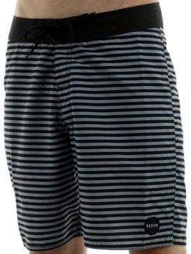 Surf Brixton Plank Boardshorts in Grey W/ Black http://www.surfride.com/getproduct.asp?p=25399&s=6&b=25