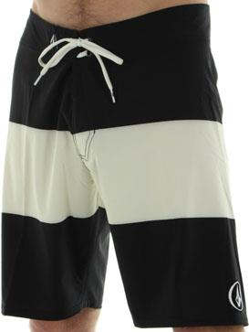 "Surf Volcom V4S Stripe 20"" Boardshort in Black http://www.surfride.com/getproduct.asp?p=24261&s=6&b=171"