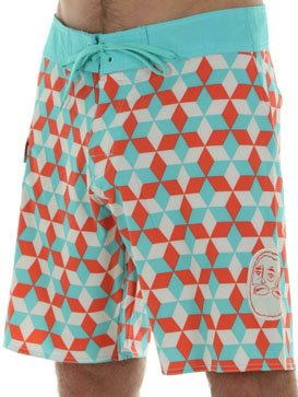 Surf RVCA Barry Boardshort in Teal/Orange http://www.surfride.com/getproduct.asp?p=24404&s=6&b=138