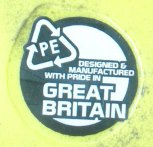 Entertainment Made in Great Britain with pride. And recyclable too!