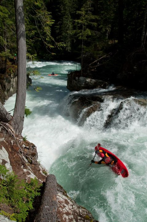Kayak and Canoe Photo: Tom Janney Paddler:Tyson Titensor - Upper Chekamus in BC