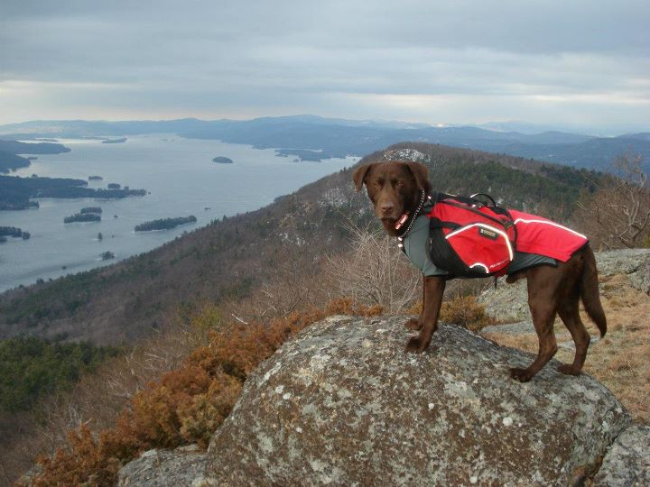 Camp and Hike Kobi pauses in his Cloud Chaser jacket and Palisades pack after a chilly March night camping out on the Tongue Mountain Range of the Adirondacks, overlooking Lake George, NY. Kobi's favorite activity is hiking and camping, not to mention the anticipation