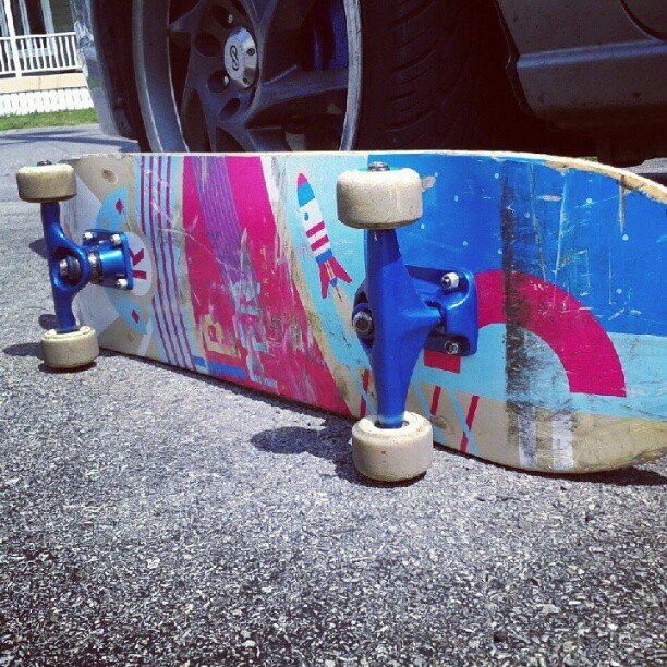 Skateboard my new baby
