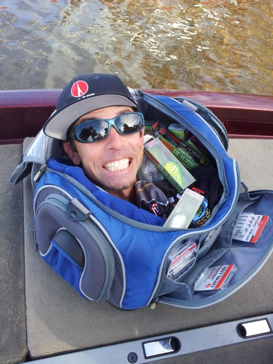 Entertainment Has anyone ever unzipped their tackle bag and found Mike Iaconelli's head inside, spouting fishing advice? Look for this VMC commercial to air this coming season!