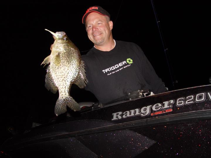Fishing Rapala pro Chris Gilman is taking advantage of the fall crappie bite in MN with Trigger X plastics, anyone else catching crappies this fall?