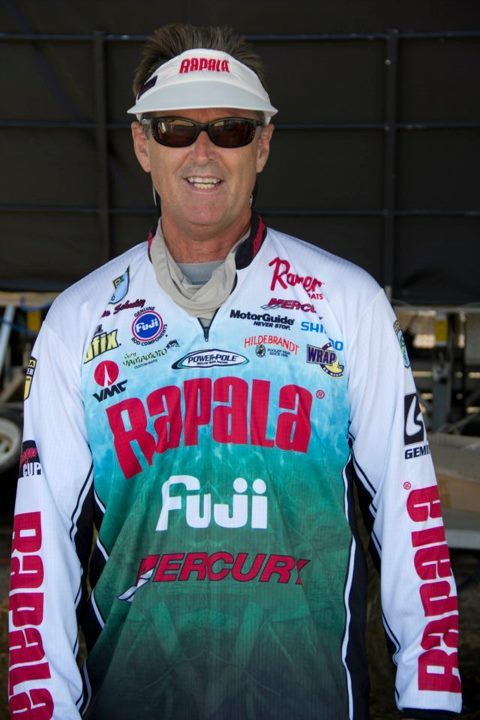 Entertainment Rapala Pro Angler Bernie Schultz Fishing in line for weigh-in