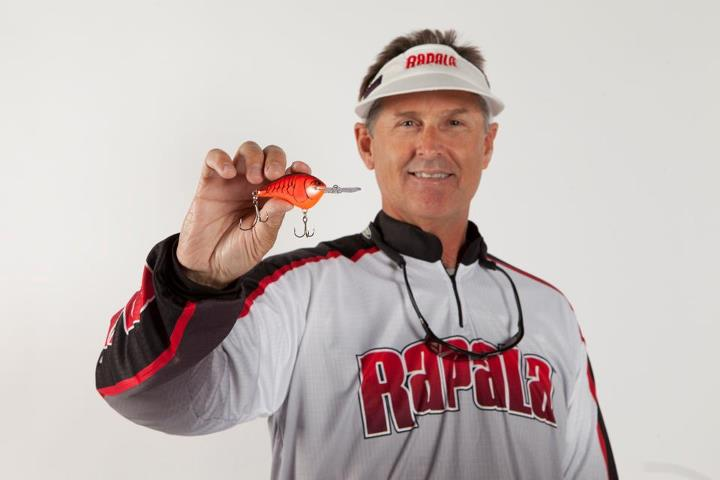 Entertainment Rapala Pro Angler Bernie Schultz Fishing and the Custom Ink DT.