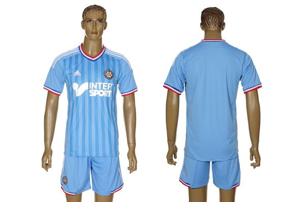 Entertainment Mens Olympique Marseille Away Soccer Jersey 12/13