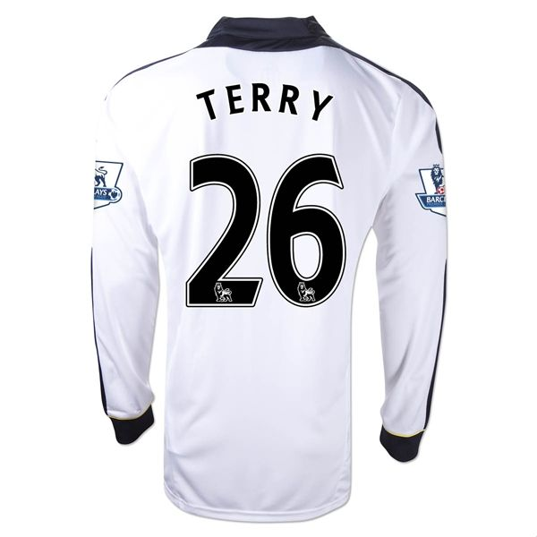 Entertainment TERRY Chelsea Third Long Sleeve Soccer Jersey 2011/2012