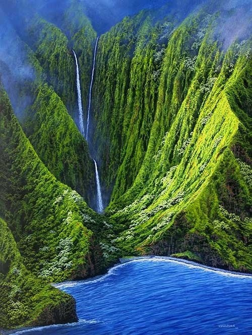 Camp and Hike Molokai, Hawaii