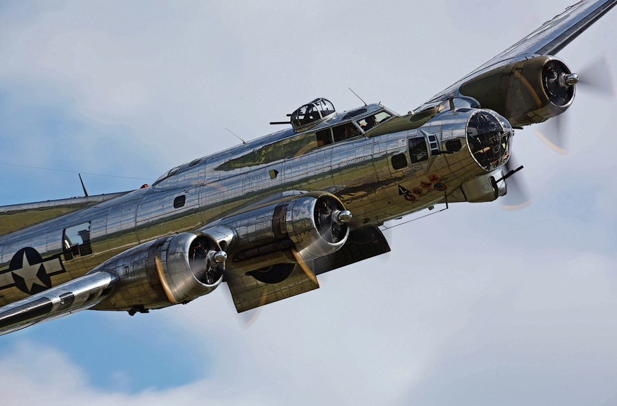 Guns and Military This Boeing B-17G Flying Fortress is owned and operated by the Yankee Air Museum