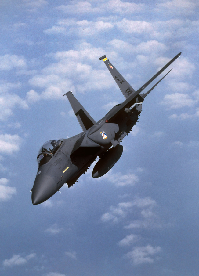 Guns and Military OPERATION DESERT STORM F-15 STRIKE EAGLE