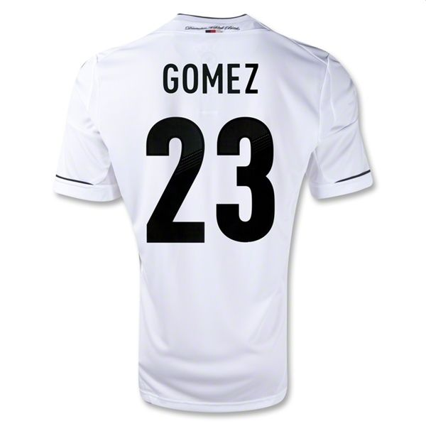 Entertainment Mens GOMEZ Germany Home Soccer Jersey 11/13