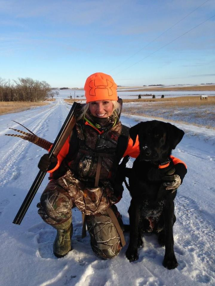 "Hunting IT'S EASY TO confuse ""The Crush"" with ""The Flush"" when Tiffany Lakosky gets after late season S.D. roosters."