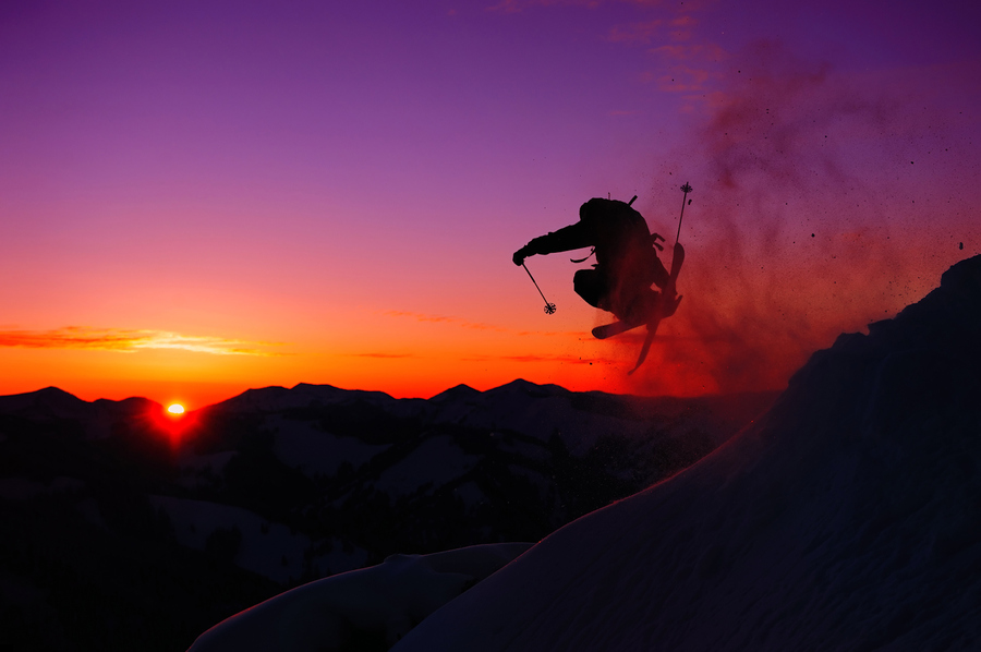 Ski Sunset Session
