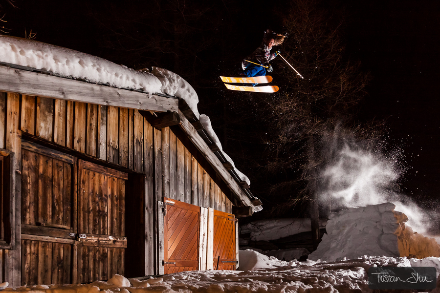 Ski Leo Taillefer 360 to Rooftop